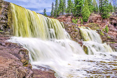 Vintage Buick Rights Managed Images - Big Manitou Falls Royalty-Free Image by Tommy Anderson