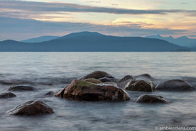 Photograph - Big Rocks at Acadia Beach, Vancouver, BC 1 by Art Calapatia