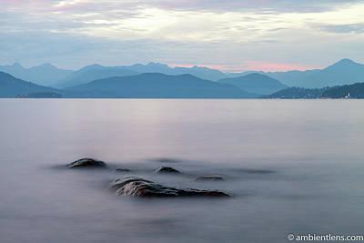 Photograph - Big Rocks at Acadia Beach, Vancouver, BC 4 by Art Calapatia