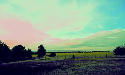 Photograph - Big Sky Australia by VIVA Anderson