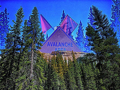 Digital Art - Avalanche by Jerald Blackstock