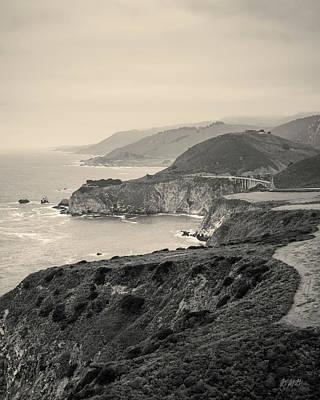 Photograph - Big Sur Coast Vii Toned by David Gordon