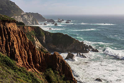 Photograph - Big Sur Coast V Color by David Gordon