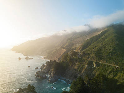 Photograph - Big Sur Sunset by Seascaping Photography