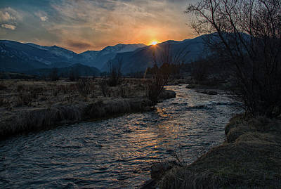 Photograph - Big Thompson Sunset by Darlene Bushue