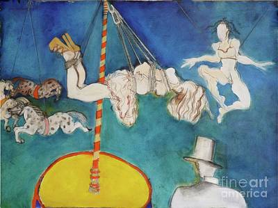 Painting - Big Top by Carolyn Weltman