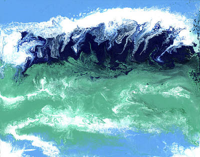 Painting - Big Wave by Alice Leggett