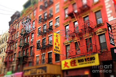 Photograph - Big Wong Colors Chinatown New York City by John Rizzuto