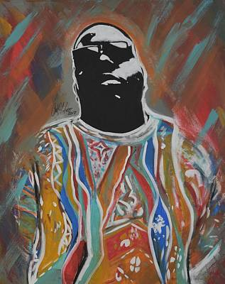 Painting - Biggest Poppa by Antonio Moore