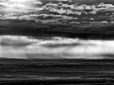 Photograph - Bighorn Basin Storm by Leland D Howard