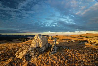 Photograph - Bighorn Ridge Sunrise by Leland D Howard