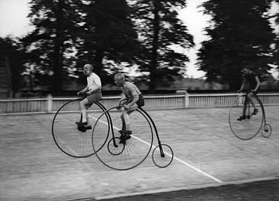 Photograph - Bike Race by Fox Photos