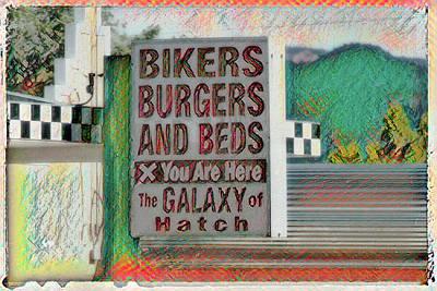 Spot Of Tea Royalty Free Images - Bikers Burgers and Beds - Hatch - Utah Royalty-Free Image by Debra Martz