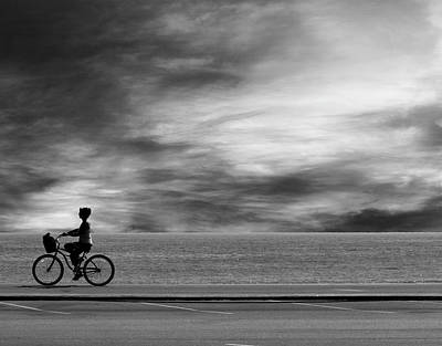 Photograph - Biking On Pch by John Rodrigues