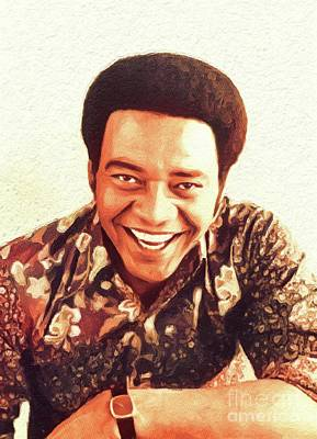 Music Royalty-Free and Rights-Managed Images - Bill Withers, Music Legend by John Springfield