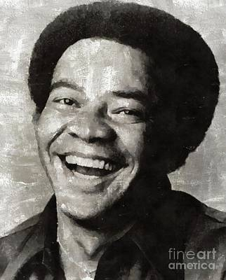 Music Paintings - Bill Withers, Music Legend by Esoterica Art Agency