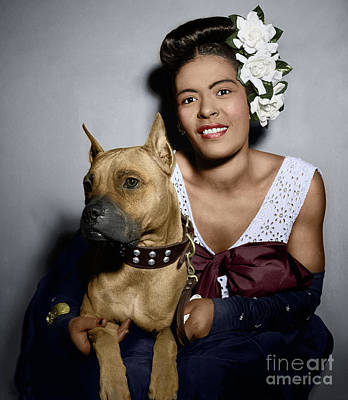 Photograph - Billie Holiday by Granger