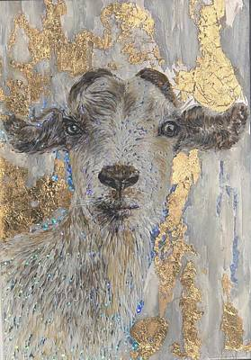 Painting - Billy Goat by Jeleata Nicole