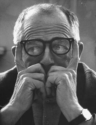 Billy Wilder Art Print by Gjon Mili