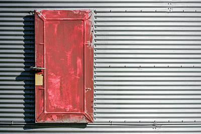 Photograph - Bin Door by Todd Klassy