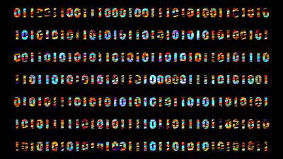 Aloha For Days - Binary code by Jan Fidler