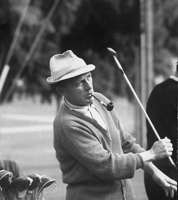 Photograph - Bing Crosby by Allan Grant