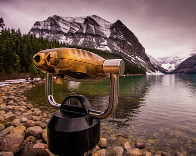 Photograph - Binoculars by Peter OReilly