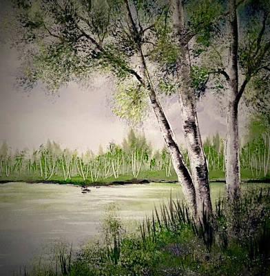 Painting - Birch Beginnings by Sandra Day