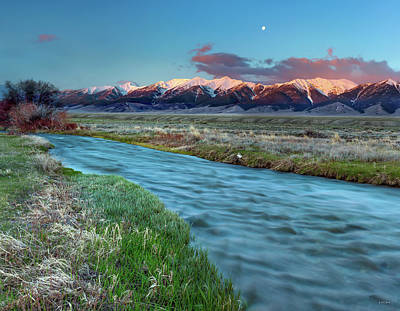 Photograph - Birch Creek by Leland D Howard