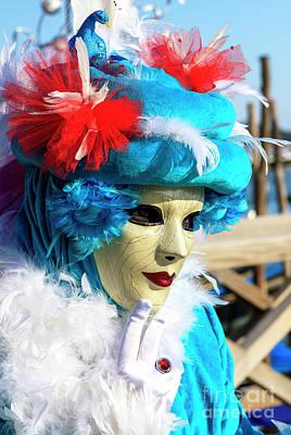 Photograph - Bird Hat For Carnevale Di Venezia by John Rizzuto