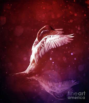 Digital Art - Bird Kingdom 7 Bloodline by Johan Lilja