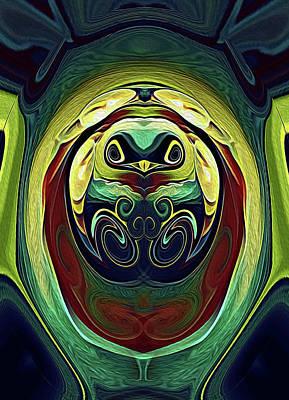 Digital Art - Bird Of Expression by Locky Monsoon