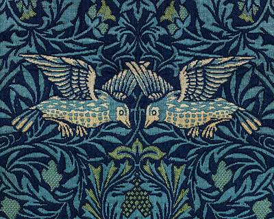 State Love Nancy Ingersoll - Birds by William Morris  1834-1896  2 by Celestial Images