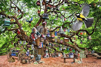 Digital Art - Birds-Eye View by Steve Lockwood