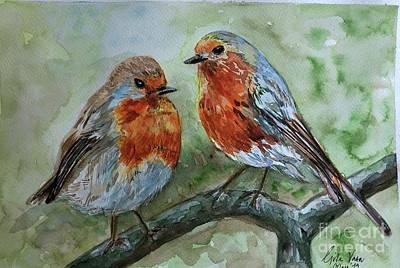 Painting - Birds by Gita Vasa