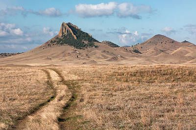 Photograph - Birdtail Butte Trail by Todd Klassy