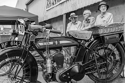 Photograph - Birmingham Small Arms Company Limited Motorcycle by John McGraw