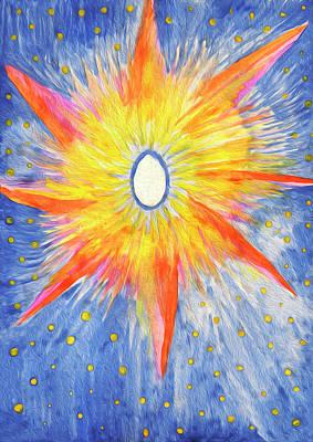 Painting - Seed Of Life by Irina Dobrotsvet