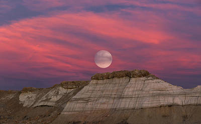 Photograph - Bisti Moon by Kathleen Bishop