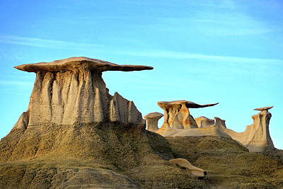Photograph - Bisti Wings 01 by Jeff Brunton