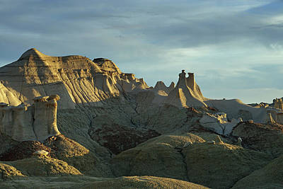 Photograph - Bisti  Wings 13 by Jeff Brunton