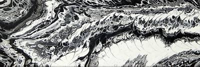 Modern Man Surf - Black and White P/3 by Ilonka Walter