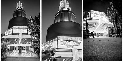 Photograph - Black And White Triptych- by JD Mims