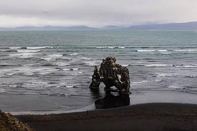 Photograph - Black Beach And Hvitserkur by RicardMN Photography