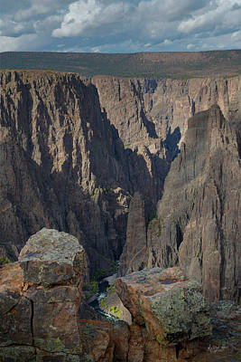 Photograph - Black Canyon Of The Gunnison Gunnison Point by Richard Raul Photography
