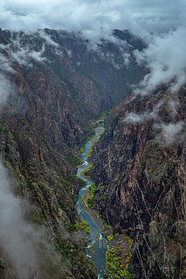 Photograph - Black Canyon Of The Gunnison Cedar Point by Richard Raul Photography
