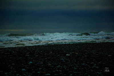 Photograph - Black Diamond Beach by Kevin Banker