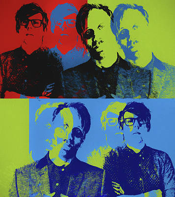 Painting - Black Keys Pop Art by Dan Sproul