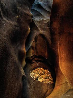 Photograph - Black Magic Canyon 1 by Leland D Howard