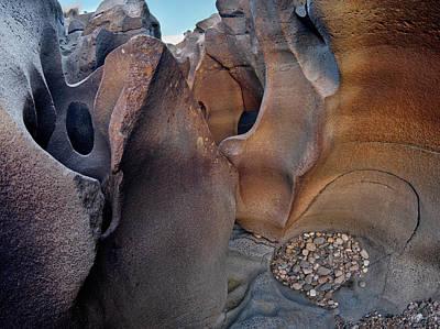 Photograph - Black Magic Canyon 3b by Leland D Howard